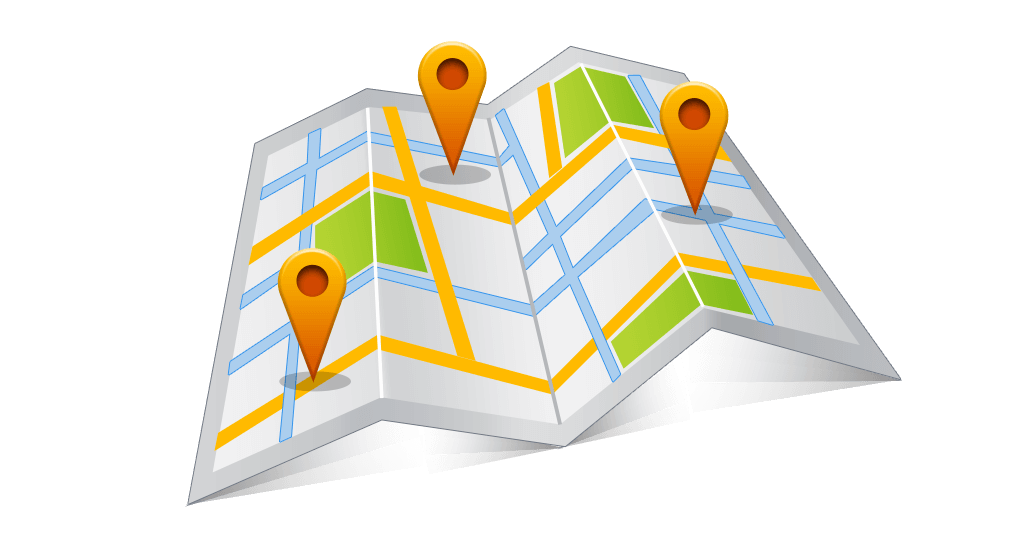 Google Maps Symbolhafte Darstellung