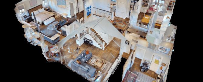 Puppenhaus 3D Hausansicht